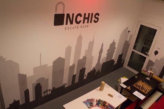 INCHIS Escape Rooms