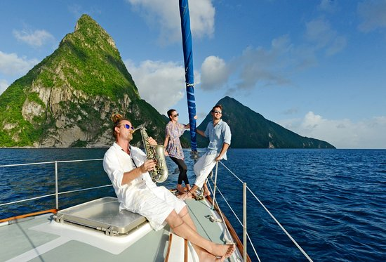 Anse Chastanet: Private Sailing