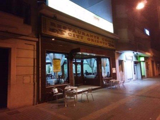 Alcudia, İspanya: Entrada restaurante