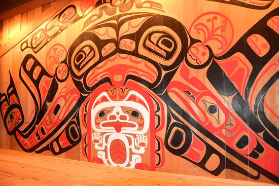 Garibaldi Highlands, Канада: Cultural Centre Hartley Bay - Great Bear Explore SUP