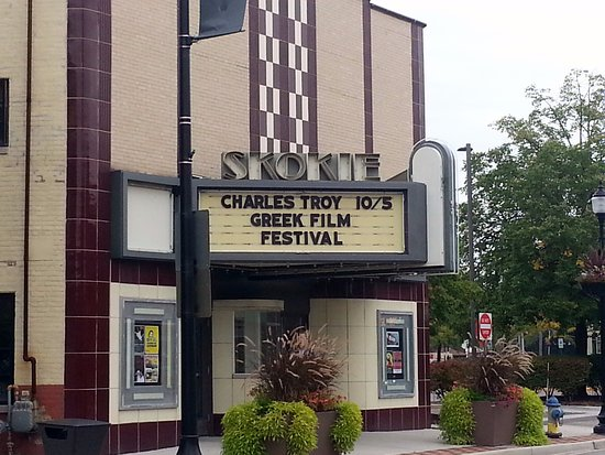 Front & entrance to Skokie Theater