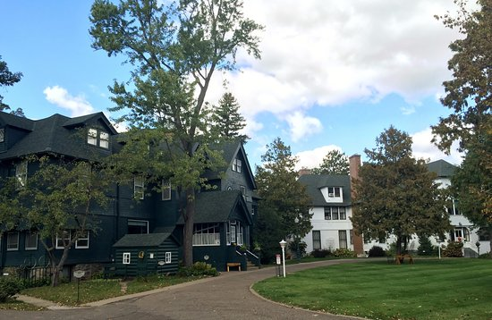 Little Falls, Μινεσότα: Nationally registered Historic Homes- the Weyerhaeuser and Musser Mansions