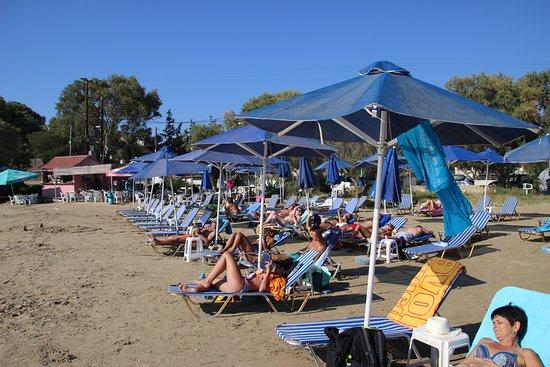 Tersanas, Yunani: Petite plage sympathique