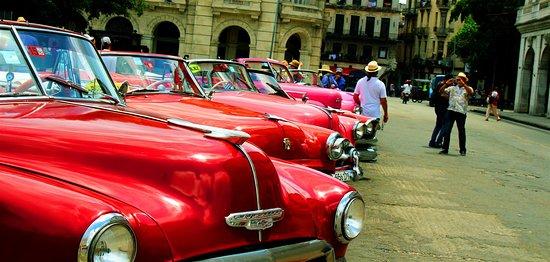 Central Park Of Havana And Restaurants