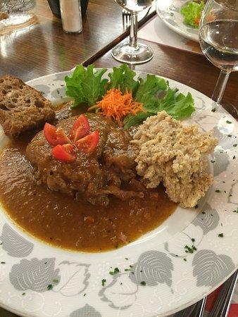 Tenero, Suiza: Ossobuco was delicious!