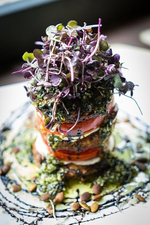 Swannanoa, NC: Fried Green Tomato stack