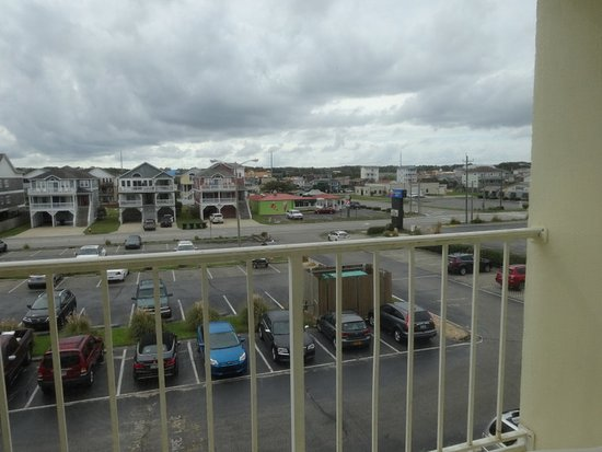 Ramada Plaza Nags Head Oceanfront: View from room