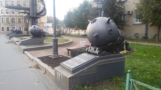 Monument to 100 Years Anniversary of Submarine Forces of Russia