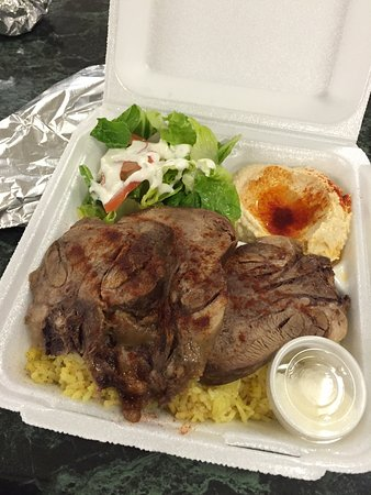 Mary's Mediterranean Kitchen: Beef Tongue Plate - super tender, excellent and only $11+!