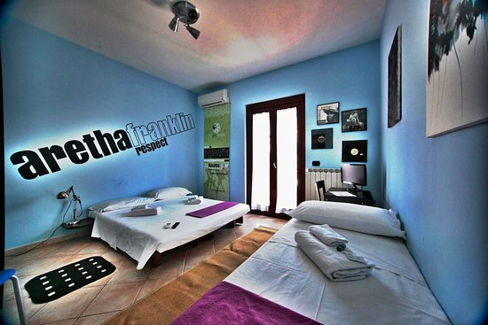 B&B Retro: ARETHA FRANKLIN room