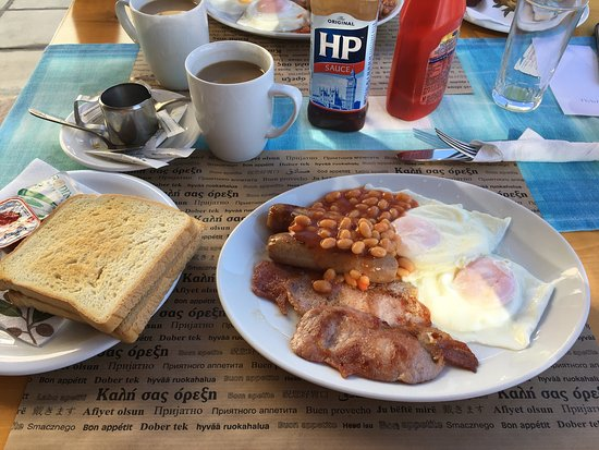 The Sunburnt Arms: Lovely English Breakfast