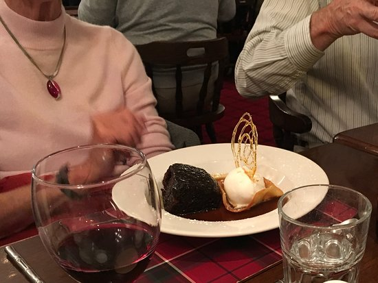 Port William, UK: Sticky toffee pudding