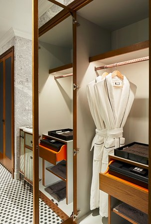 Guest Room Closet And Robe Picture Of London Marriott