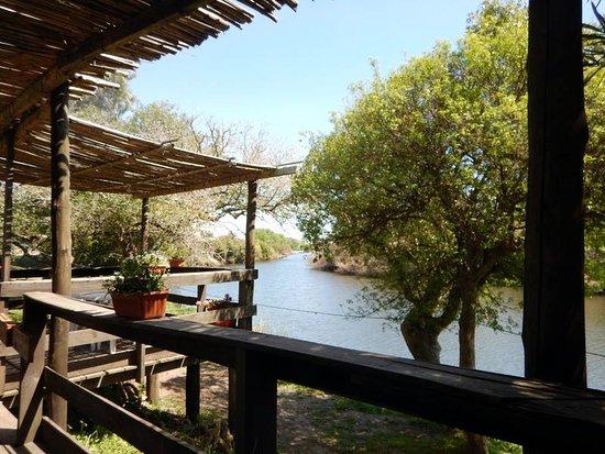 Conchillas, Uruguay: Vista al arroyo