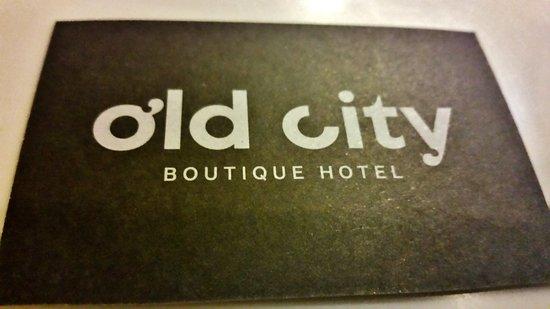 Old City Boutique Hotel: Da provare consiglio assolutamente .