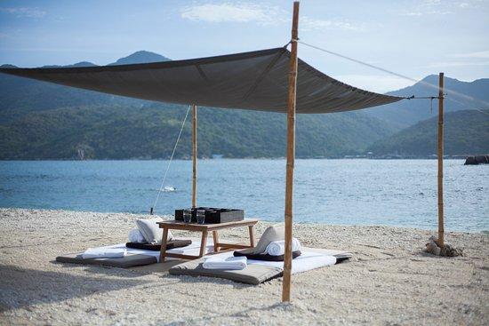 Vinh Hai, Vietnam: Beach at Amanoi