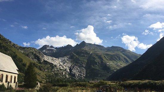 Gletsch, Ελβετία: Kleiner Einblick in unserem Aufenthalt