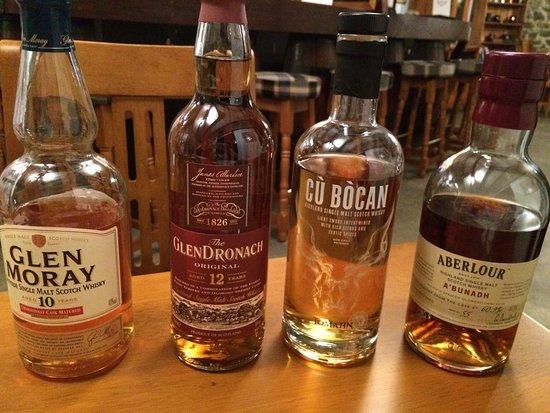Dufftown, UK: Whisky and chocolate pairing!