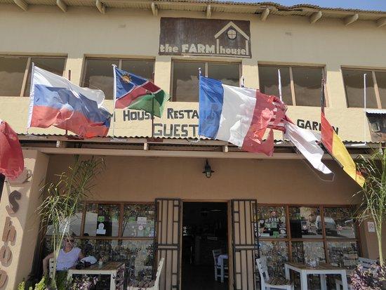 Outjo, Namibia: bon repas