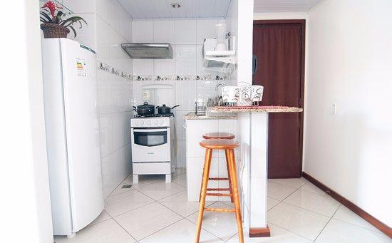 Pousada Solar de Geriba: Flat com cozinha