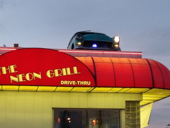 Neon grill