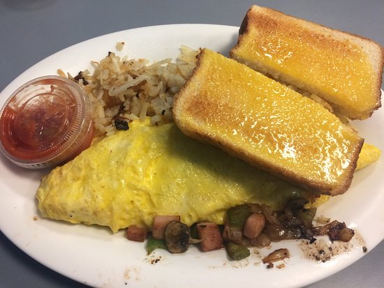 Grits Grill : Western omelet