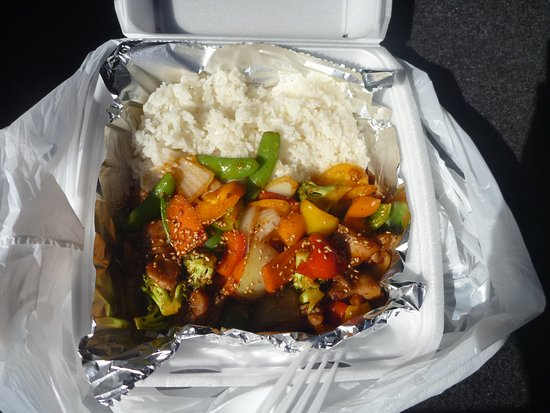 Vulcan, Canada: Kung Pao Chicken, To-Go.