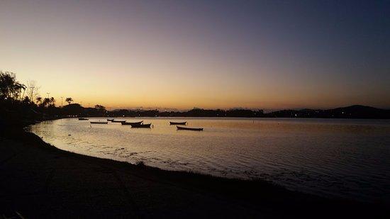 Palmeiras Beach: Pôr do Sol!
