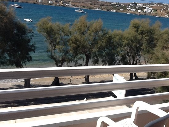 Hotel Paros: View from our balcony
