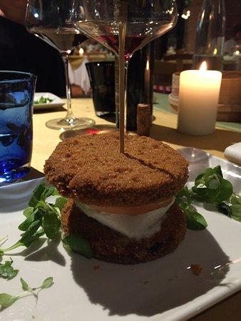 Montegranaro, Italien: Hamburger vegetariano