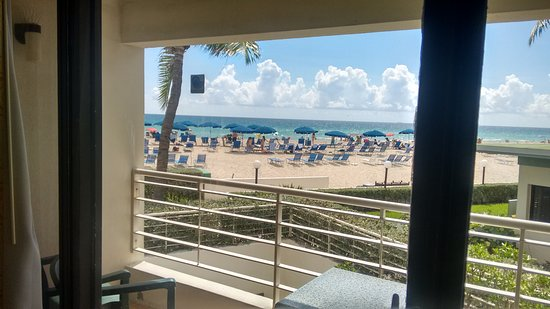 Sunny Isles Beach, Φλόριντα: balcon