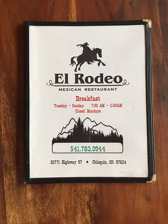 El Rodeo Mexican Restaurant: Breakfast