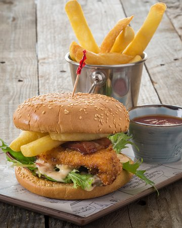 The Schnitty Butty Burger