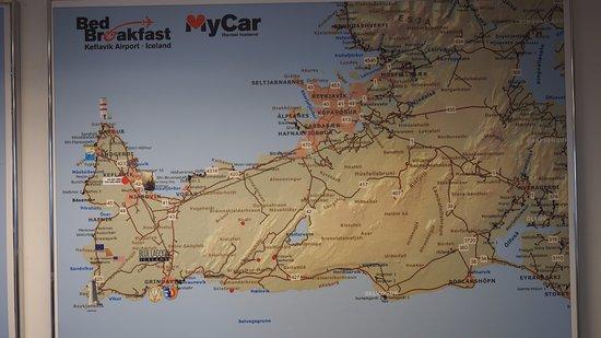 Map of Island Picture of Keflavik Reykjanesbaer TripAdvisor
