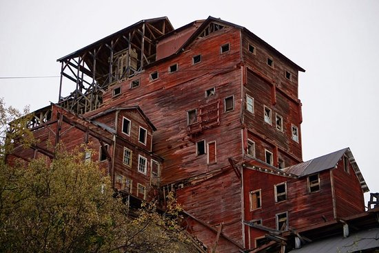 Wrangell-Saint Elias Wilderness, AK: Mill Building