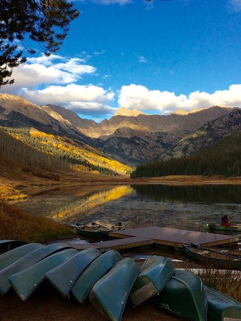 Piney River Ranch: Awesome as sun was setting