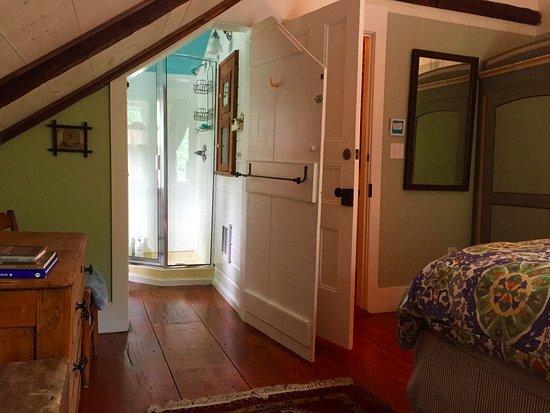 Millbrook, นิวยอร์ก: Woodland bathroom