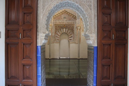 Hostal Zacatin: Nearby, The very first Madrasa...a slice of the Alhambra, downtown