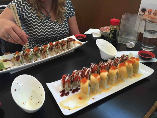 Port Alberni, Canadá: One of the rolles is enough if you are not overly hungry