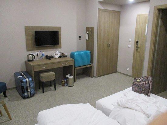 シンプルでゆったりした部屋 Picture Of Hotel Florenc Prague