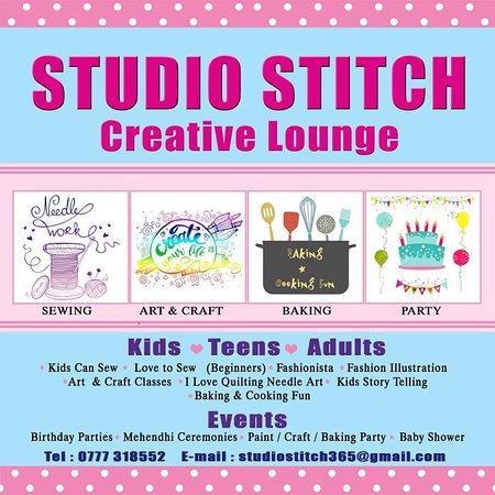 Wattala, Sri Lanka: Studio Stitch Creative Lounge