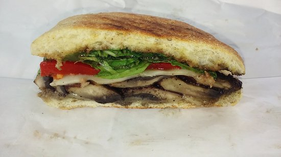 Sea Star Cafe: Mushroom Panini