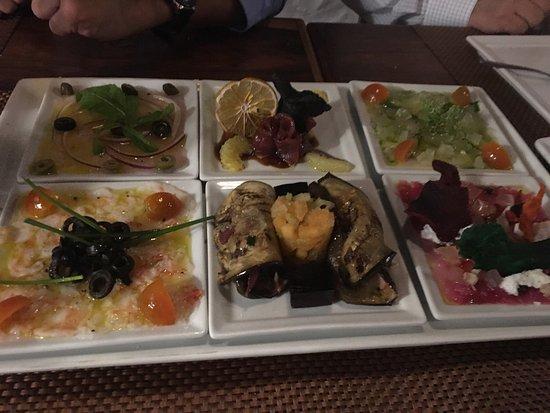 Gastronomia El Buzo: Unos camarones sin igual y el carpaccio una muy buena selección de sabores !  Súper recomendado