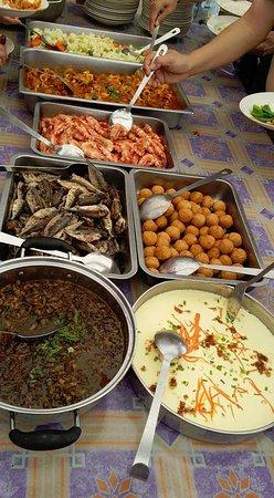 Pulau Sembilan: Buffet lunch