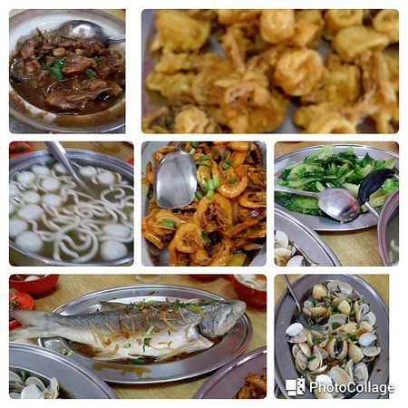 Pulau Sembilan: Seafood lunch