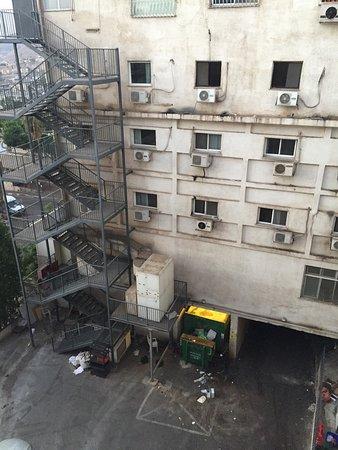 Hotel Eden: Вид из окна 4 этаж