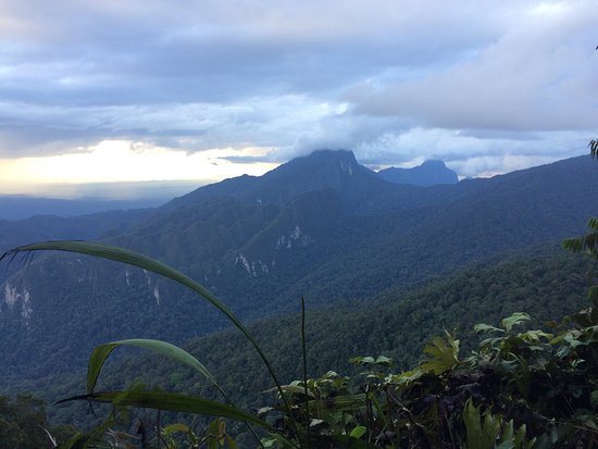 Gunung Mulu National Park, Malaysia: Sunset at camp3