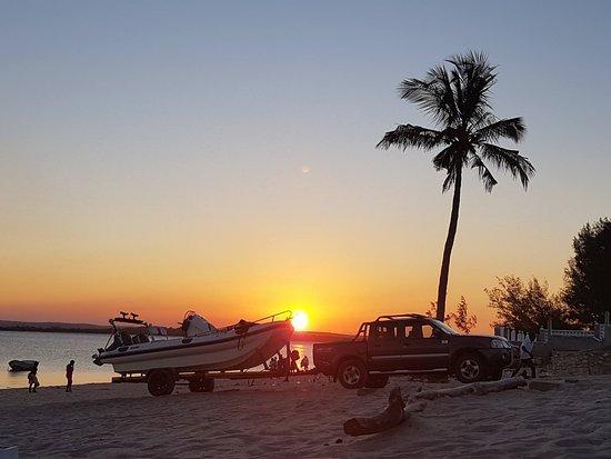 Nacala, Moçambique: Final de dia