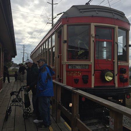 Surrey, كندا: Fraser Valley Heritage Railway