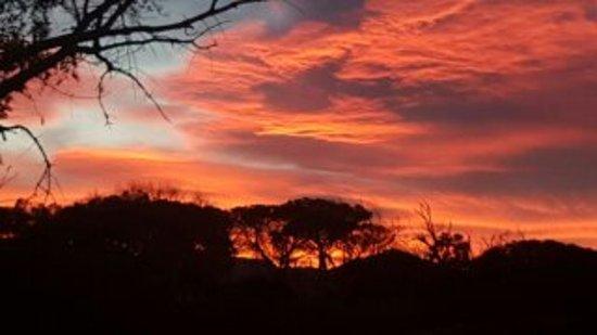 Vredenburg Manor House: Sunset